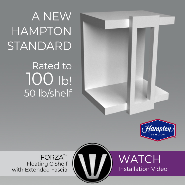 floating c-shelf